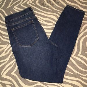 J. Crew tapered Stretch Jeans